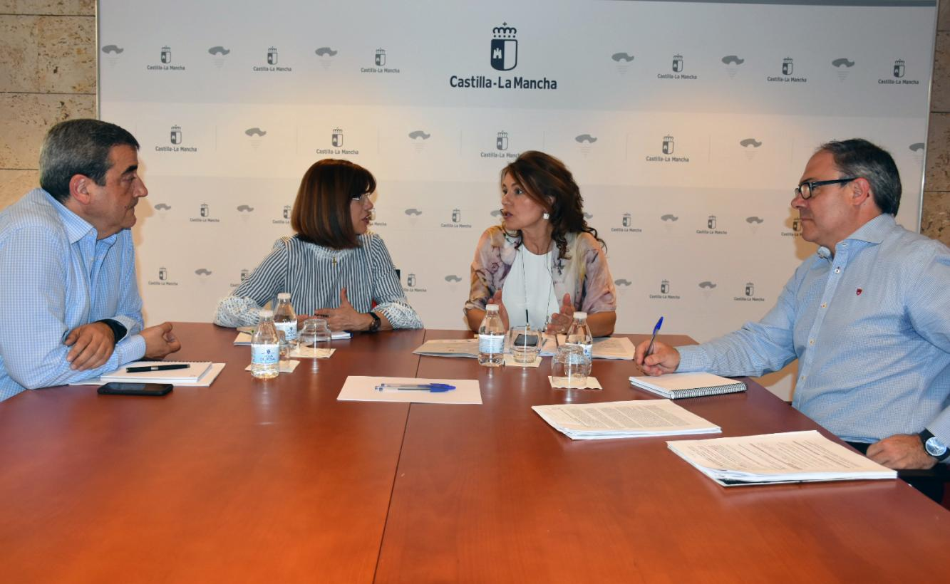 El Gobierno de Castilla -La Mancha se reúne con el CERMI para abordar las novedades de Atención Temprana en la región