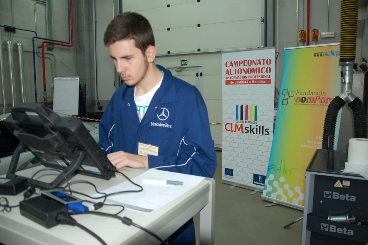 Más de 200 estudiantes participarán en los próximos días en las Competiciones Regionales de FP que promueve el Gobierno de Castilla -La Mancha