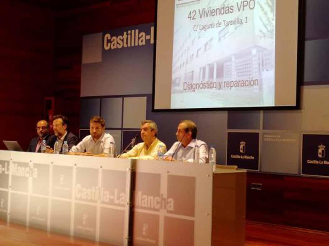 Gicaman avanza que la actuación en el edificio de Laguna de Taravilla de Guadalajara comenzará en aproximadamente un mes